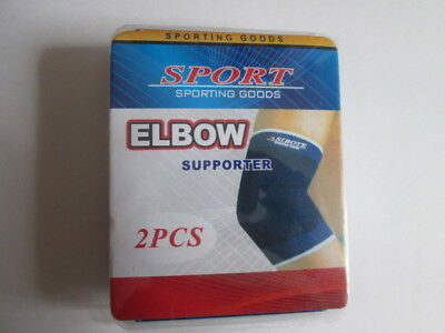 ELASTIC Elbow Supporters to protect your joint knee. PACK OF 2 PCS.