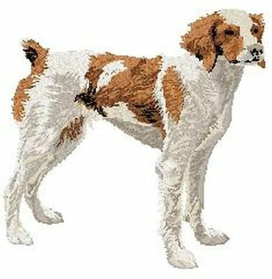 """Brittany Dog  Embroidered Patch 3.3"""" Tall"""
