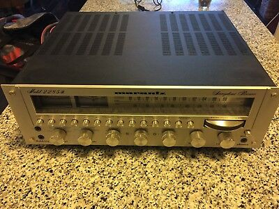 Marantz Model 2285B Stereophonic Receiver As Is