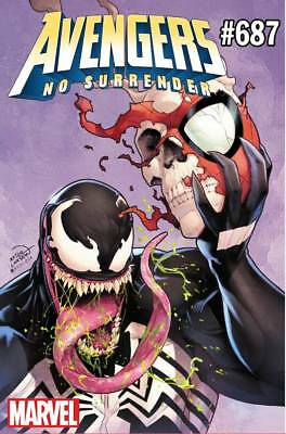 AVENGERS #687 Venom 30th Variant Marvel Comics NM Presale 4/3/2018