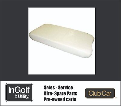 Club Car Golf Cart Buggy Seat Bottom White Part Number 104023422