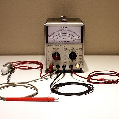 HP 410C Electronic Voltmeter - VTVM - Fully Restored & Calibrated