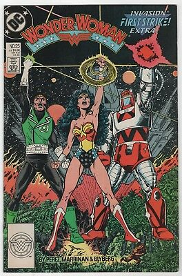 Wonder Woman #25 In Excellent/Near Mint 9.0 Condition (1988 DC)
