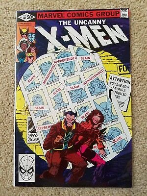 X-Men #141 Byrne Art Classic Days of Future Past Story