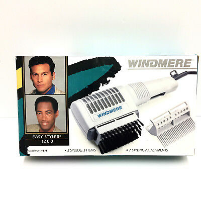 Vintage NEW in Box Windmere Easy Styler 1200 Model HD-A/375 2 Speed 3 Heats