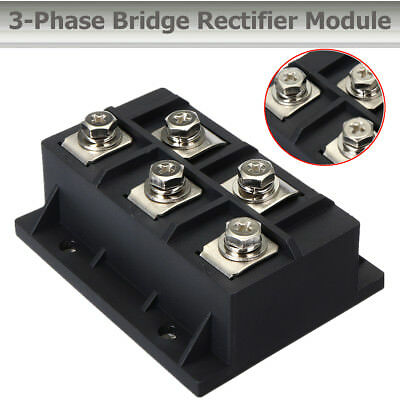 MDS200A 1600V 3 Phase Bridge Rectifier Module Diode 5 Terminals Metal Controller