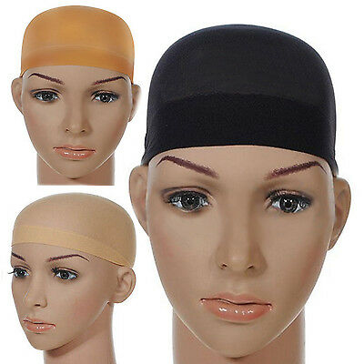 10Pcs Hair wig cap net mesh liner snood stocking stretching breathable unisex