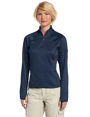 Outdoor Research Radiant Lt Zip Top Women's Large Night/Ultraviolet New w/tags