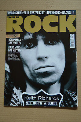 This is Rock Magazine Spain Issue 64 - October 2009 - Keith Richards 14 pages