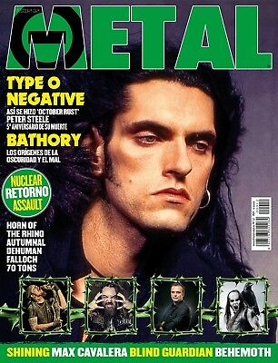 This is Metal Magazine Spain Issue 12 - 2015 - Peter Steele - Type 0 Negative