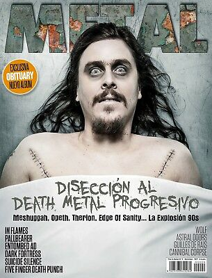 This is Metal Magazine Spain Issue 09, 2014 Opeth, Meshuggah, Therion, In Flames