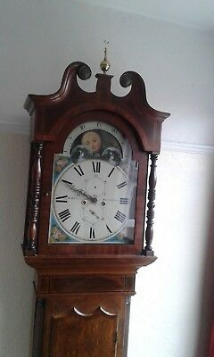 Grandfather Longcase Clock..cornforth Macclesfield..