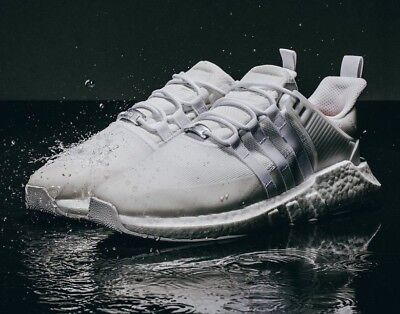 best website f1a2a ec425 Adidas Eqt 9317 Gtx Triple White Waterproof Boost Shoes Us12 Deadstock New