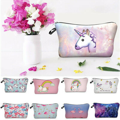 3D Cute Celeb Make Up Cosmetic Bag Pouch Purse Pencil Case Bag Travel Gift