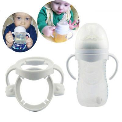 2Pcs Infant Silicone Avent Natural Bottle Handle Feeding Accessories Cup Grip