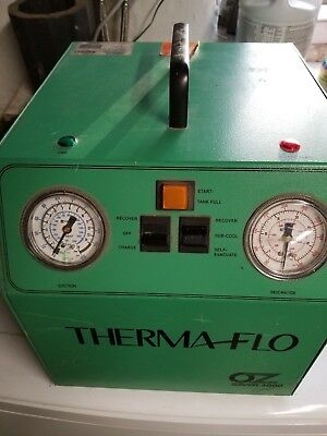 American Thermaflo Corp OZ Saver 4000 Refrigerant reclaim machine with cables