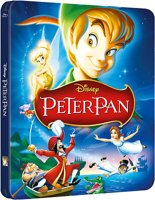 de DISNEY PETER PAN BLU-RAY ZAVVI EXCLUSIVE Sold-out Steelbook no.7