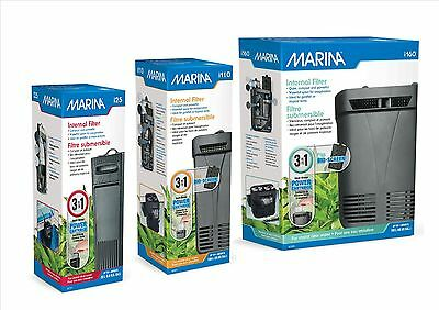 HAGEN MARINA i25 i110 i160 INTERNAL  AQUARIUM  POWER FILTER