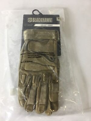 Blackhawk Tan S.O.L.A.G. Gloves with Nomex (brand new) (MEDIUM)!!