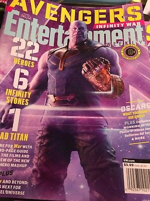 Entertainment Weekly March 2018 Infinity War Avengers Thanos