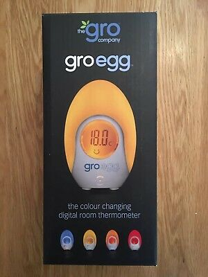 Gro Egg Room Thermometer -Brand New in Box