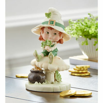 Lenox Lil' Leprechaun Irish St. Patrick's Day Figurine MSRP $67 New in Box
