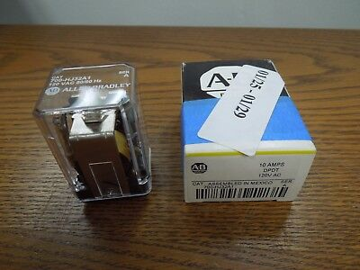 Allen-Bradley 700-HJ32A1 10A DPDT 120 VAC 50/60Hz Control Relay New Surplus