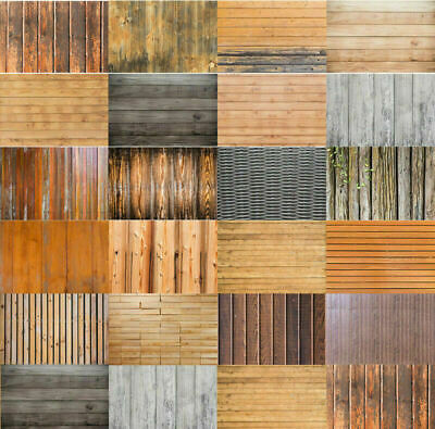 Retro Plank Brown Wood Grain Photography Background Photo Backdrop 3x5ft 5x7ft