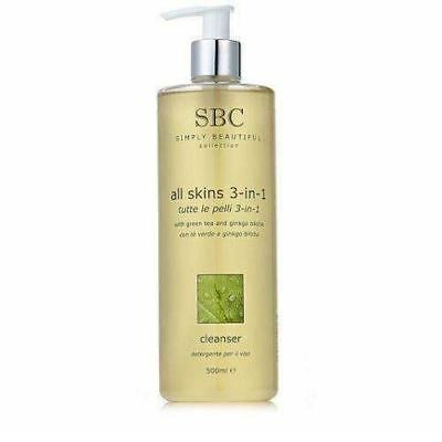 Sbc All Skins 3-In-1 Cleanser 500Ml