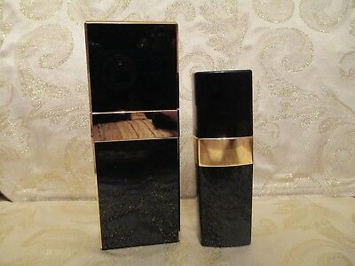 Vintage Chanel Black and Gold Spray Dispensers