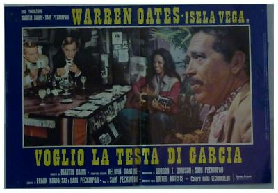 BRING ME THE HEAD OF ALFREDO GARCIA Italy Photobusta-PECKINPAH-WESTERN-S85388