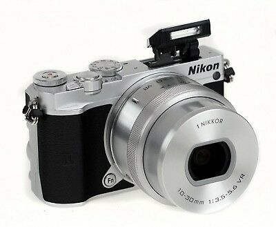 Nikon 1 J5 20.8MP Mirrorless Digital Camera w/ NIKKOR 10-30mm f/3.5-5.6 PD Lens
