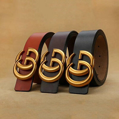 """Great Quality Belts Vintage Casual Thin Belt For Jeans Shorts Pants 0.9"""" """"GG"""""""