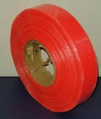 "5x Orange Rainbow Flagging/Trail Marking Barrier Tape 3/4"" x 25 Yard"