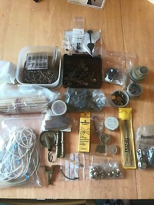 Large Job Lot Of Clock Spares And Consumables