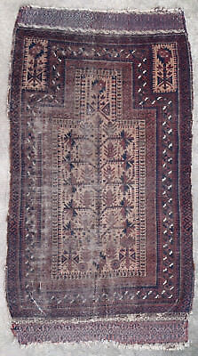 Tapis ancien antique rug Tribal Belouch Oriental 1860