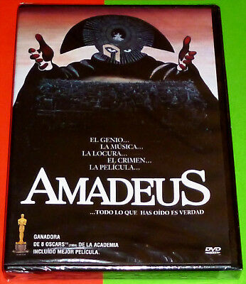 AMADEUS Milos Forman - English Deutsch Español - DVD R2 - Precintada