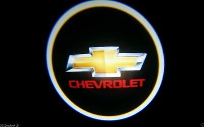Wireless 2 x LED Logo Light Ghost Shadow Projector Car Door Laser for CHEVROLET