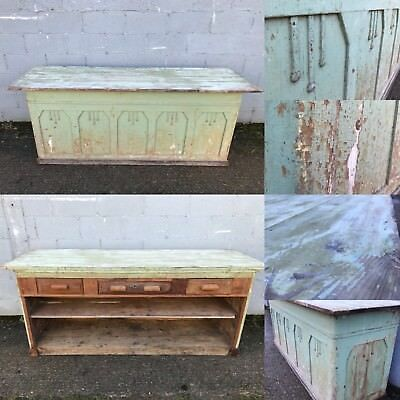 Fantastic, 19thC French Antique Cupboard/counter, Double Sided, Rare, Original