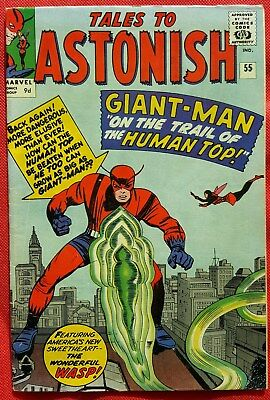 Tales to Astonish 55 Marvel Silver Age 1964 Giant Man