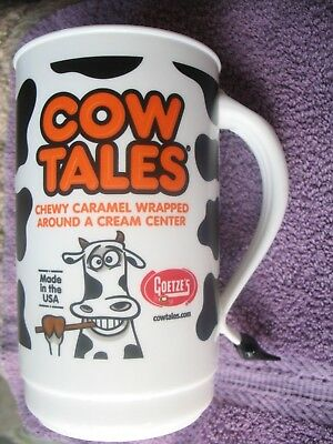 """Cow Tales Display Cup/Mug/Tumbler Cow Tail Handle, Almost 6 1/2"""" Tall  Series 34"""