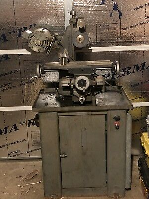 VINTAGE Barker PM Horizontal Milling Machine Horizontal Mills for Production