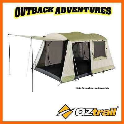 Oztrail Sundowner 6P Dome Tent Family Camping Hiking Camp 6 Person New Model