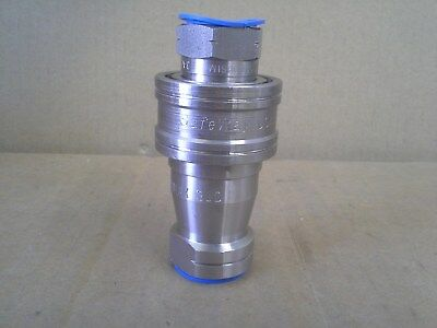 Safeway Ss105-4 Ss101-4 Rated At 5000Psi Hydraulic Disconnect Stainless Steel