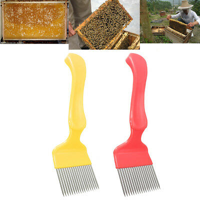 Stainless Steel Honey Comb Beekeeping Tine Uncapping Fork Hive Tool