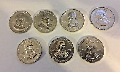 Shell's Mr. President Coin 7 Coins