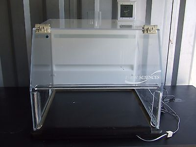 Flow Sciences FS2010BKGVA 2' Vented Balance Safety Enclosure with Vent Monitor