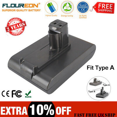 2000mAh Vacuum Cleaner Battery For Dyson DC31 DC35 Animal DC34 DC44 DC45 22.2V