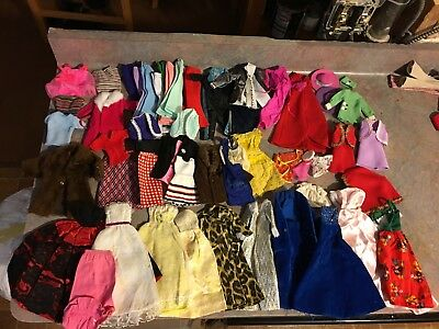 Lot Mixed Vintage Barbie Doll Clothing Clothes 1960's 1970'S Ken Tammy Tutti