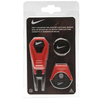 Nike CVX Lite Repair Tool with Hat Clip and Ball Marker Golf